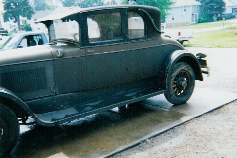 1926 D-74 Victoria Coupe - Owned by Chic and Arlene Kleptz
