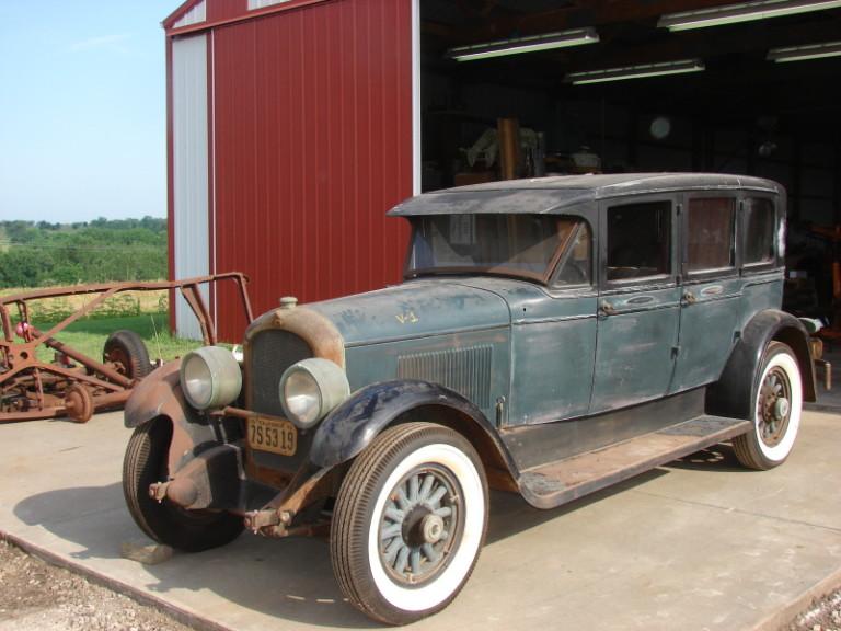 1927 E-75 4 Door Sedan - Owned by David K. Cargill