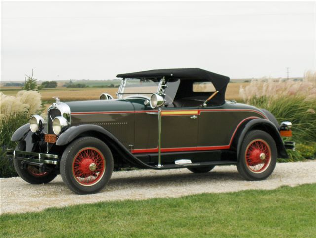 1927 Little Marmon - Owned by Gloria and Tom Kannas