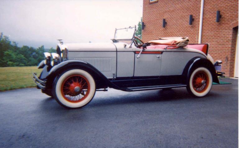 1927 Marmon Model L - Owned by Richard Gwinn