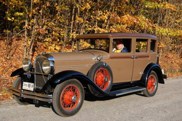 1929 Model 78 Sedan - Owned by Ken & Bev Pobuda