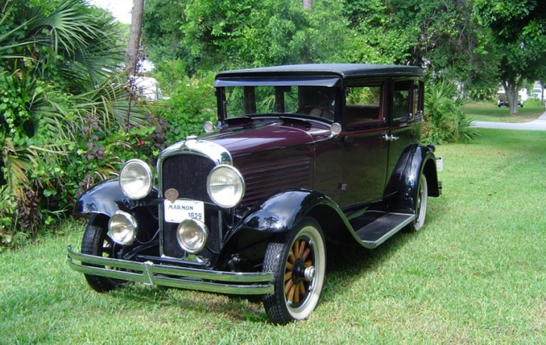 1929 Marmon Roosevelt - Owned by Roger & Marjorie Butler