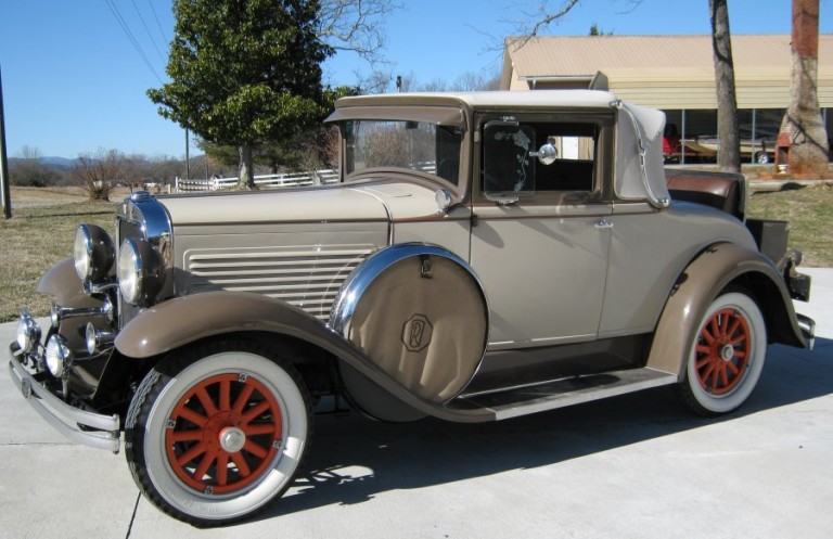 1929 Roosevelt Coupe - Owned by Bernie and Pauline Blakney