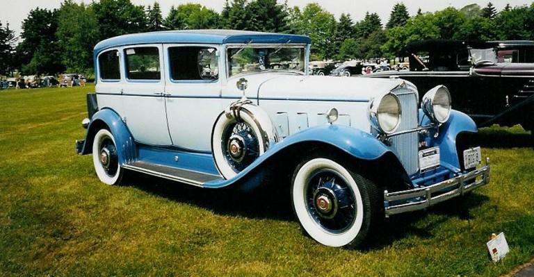 1930 Big 8  - Owned by Greg and Ellen Dawson