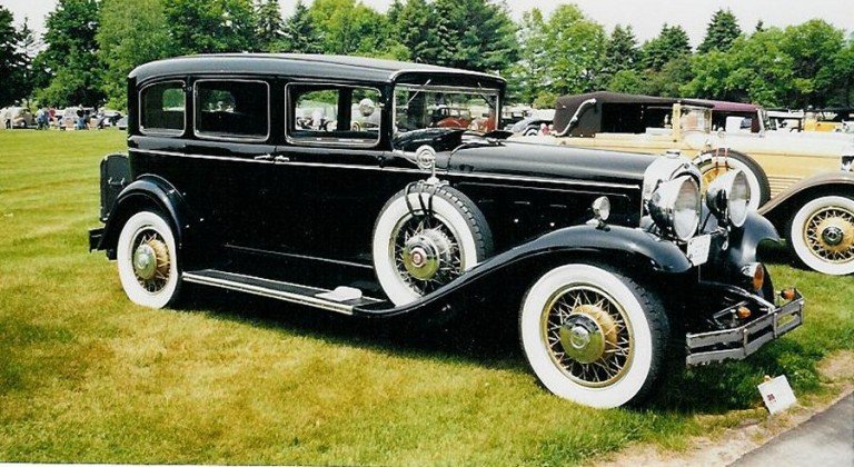 1930 Big Eight 5 Passenger - Owned by Bill and Edie Jaquiery