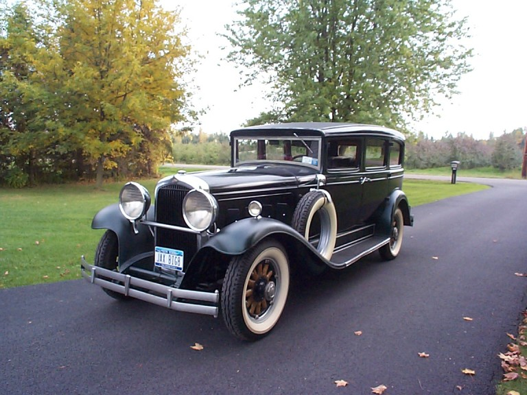 1930 Big Eight - Owned by Jack and Sandy Castor