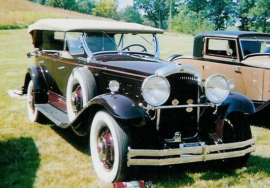 1930 Big 8 Touring - Owned by Peter Ehinger