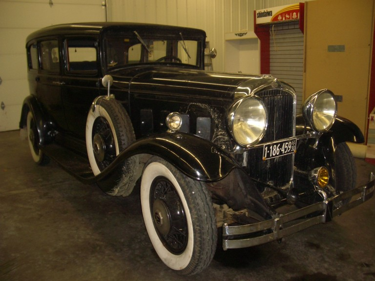 1930 Big Eight - Owned by Ben Biedron