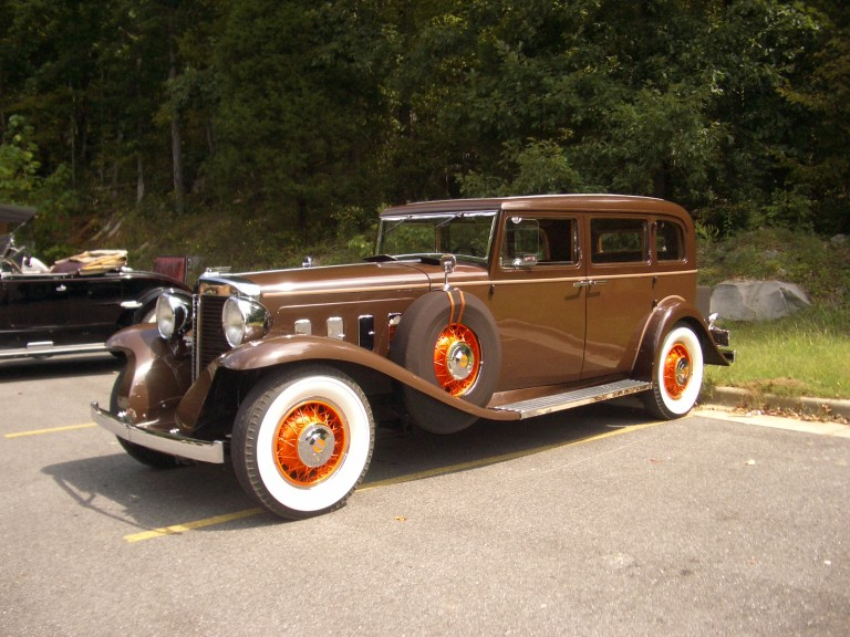 1931 Sixteen - Owned by Phillip Desmond