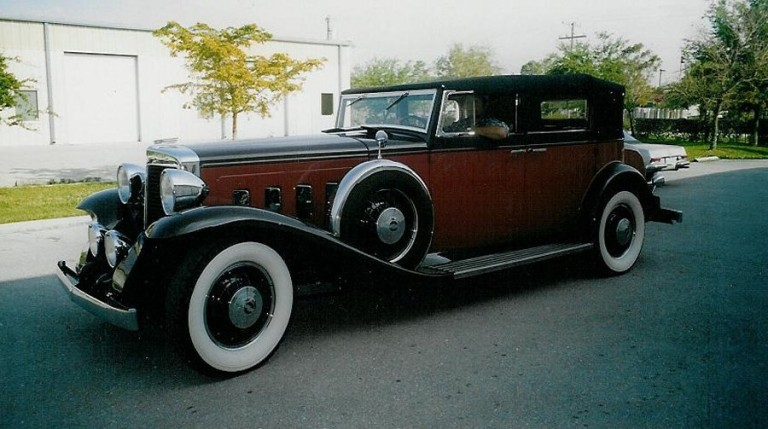 1931Sixteen Convertible - Owned by Bill McCleary