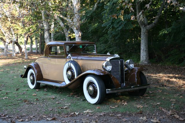 1931 Sixteen Coupe - Owned by Gary & Margarita Severns