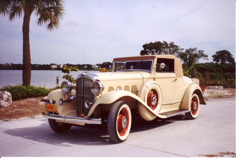 1932 Marmon Model 8-125 Deluxe - Owned by Phil and Leona Belote