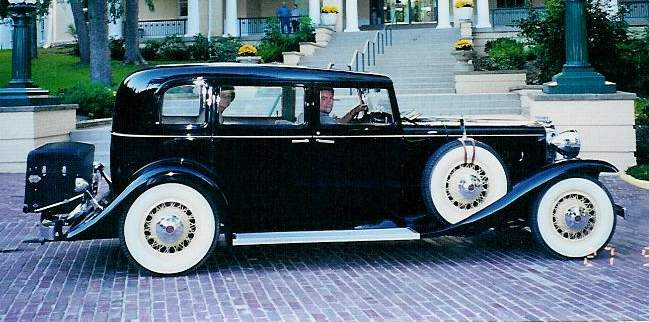 1932 Sixteen - Owned by Ardell & Jeanith Miller