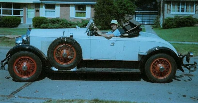 1926 Model D-74 Speedster - Owned by Art and Marge Koblish