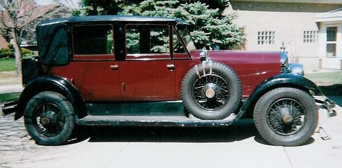 1927 Model E-75 Landaulette Judkins body - Owned Art and Marge Koblish