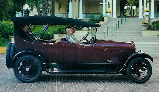 1917 Model 34 Touring - Owned by Virginia and Don DePue