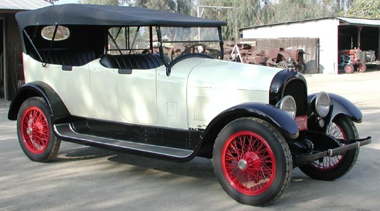 1922 Model 34B 7 Passenger Touring - Owned by Richard & Barbara Stumb
