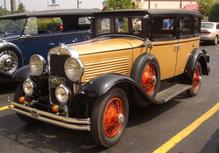 1929 Roosevelt - Owned by Joe & Barbara Franko