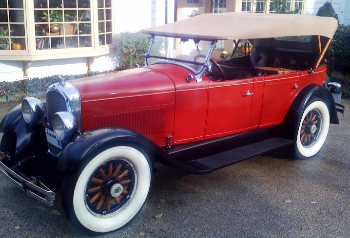 1927 Little Marmon - Owned by Lawrence & Susan O'Donnell