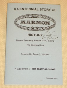 A Centennial Story of Marmon History