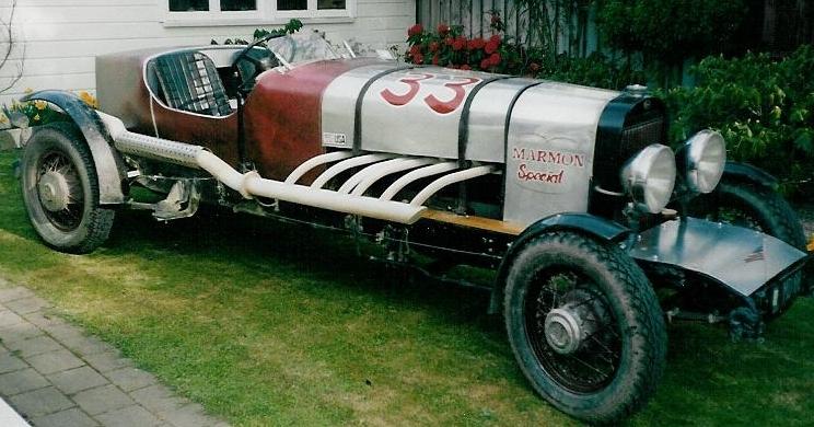 1930 Big Eight Racer - Owned by Reg & Glenda Horner
