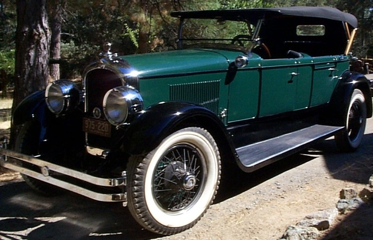 1927 Model E-75 - Owned by Sheldon & Patricia Ball
