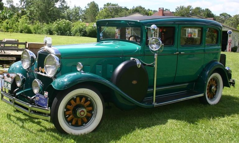 1930 Big 8 - Owned by Steve & Nancy Wolf
