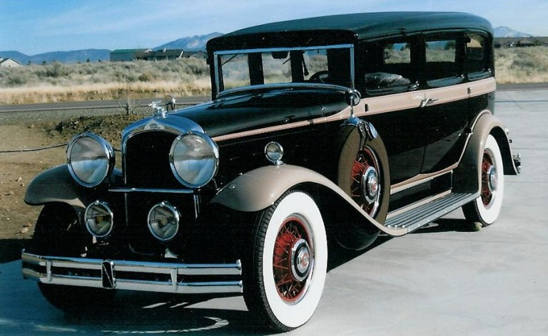 1930 Big 8 (Hayes body) - Owned by Suzanne & Butch Marcione